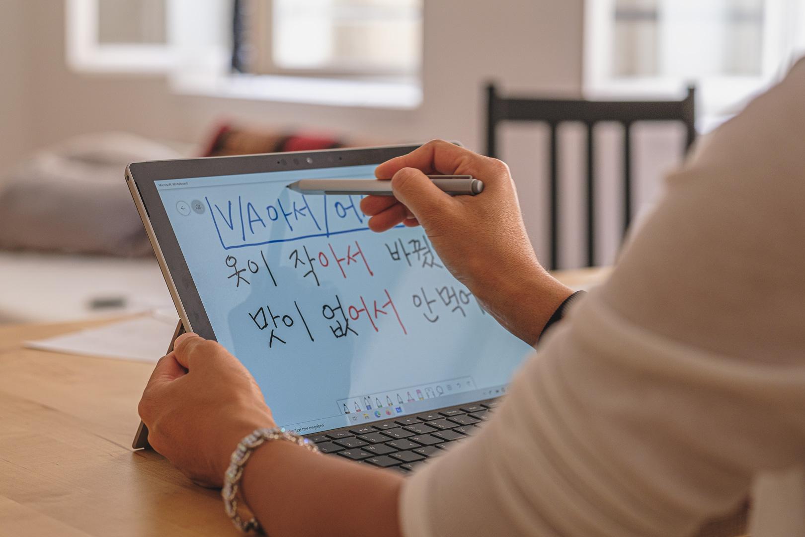 Online koreanisch lernen
