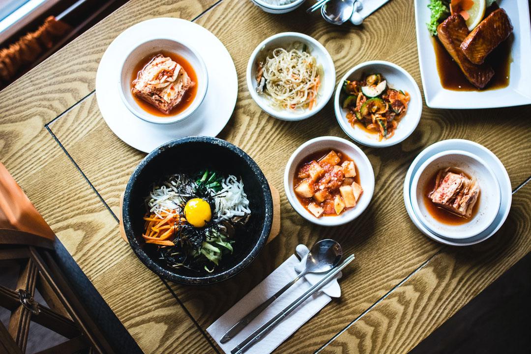 Koreanische Tischmanieren