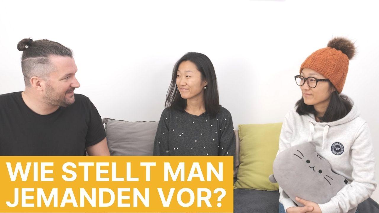 Auf Koreanisch Vorstellen YouTube Video